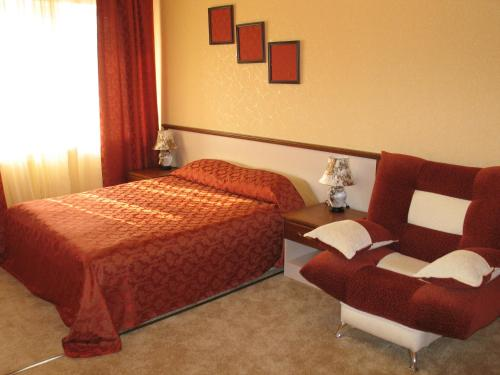 A bed or beds in a room at Inshinka Spa Hotel
