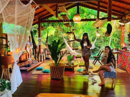 Guests staying at CASA DA ARVORE, sonho na Amazônia, 50m da praia