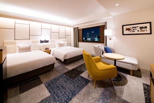 A room at ANA Crowne Plaza Osaka