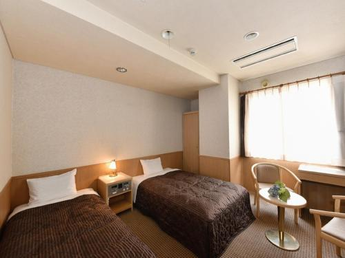A room at Hotel Pearl City Sapporo