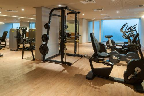The fitness center and/or fitness facilities at Barcelo Anfa Casablanca