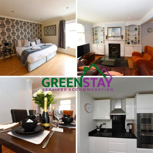 Greenstay Serviced Accommodation, Chester, 3 Bedroom house, Honeysuckle House- City Centre Location with Netflix & Wi-Fi