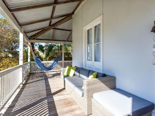 A porch or other outdoor area at The Ultimate Holiday Retreat