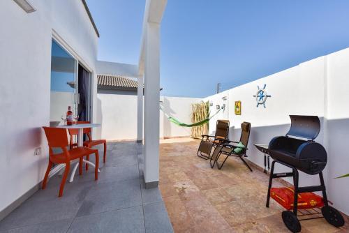 Uma varanda ou outra área externa em Brand-new Esmeralda Apartment