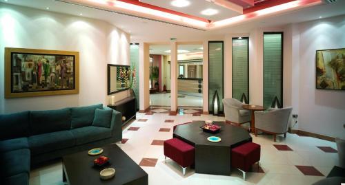 Area soggiorno di Centrotel Hotel
