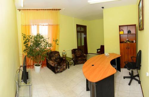 Гостиная зона в Hotel Uyut
