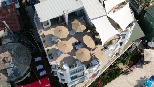 Ptičja perspektiva nastanitve Hotel Royal Saranda