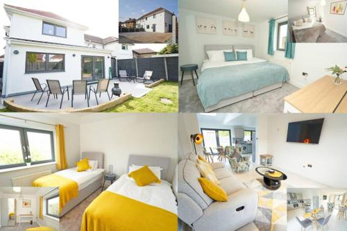 Newly Refurbished 4 Double Bed House with Parking