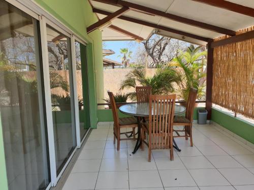 Uma varanda ou terraço em Piscadera Bay Resort 52