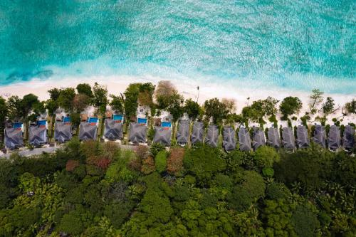 A bird's-eye view of Hilton Seychelles Labriz Resort & Spa