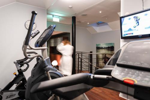 Fitnesscenter och/eller fitnessfaciliteter på Clarion Hotel Örebro