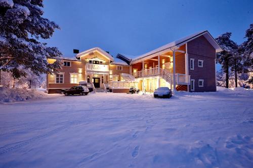 Lapland Lodge under vintern