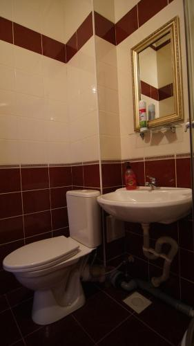 Ванная комната в Alladin Hotel