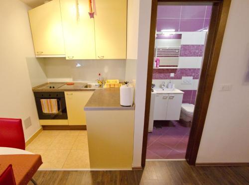 Kuhinja ili čajna kuhinja u objektu Apartmani Nighty Night