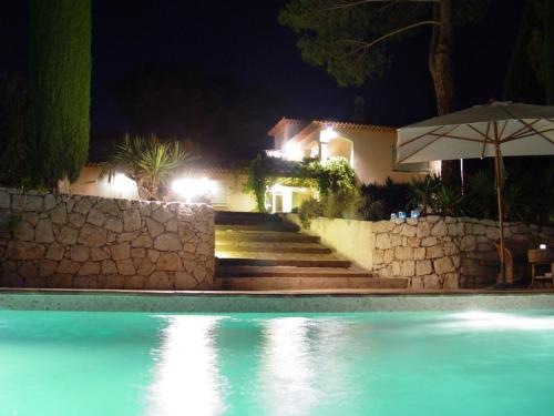 The swimming pool at or near Luxury Villa in Mougins with Swimming Pool