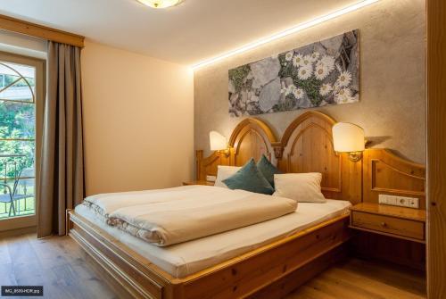 Ένα ή περισσότερα κρεβάτια σε δωμάτιο στο Top Apart Gaislachkogl