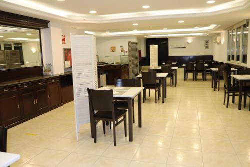 Un restaurante o sitio para comer en Silken Insitu Eurotel Andorra