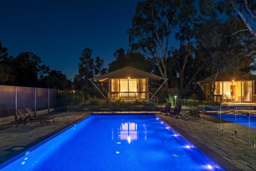 The swimming pool at or close to Discovery Parks – Barossa Valley