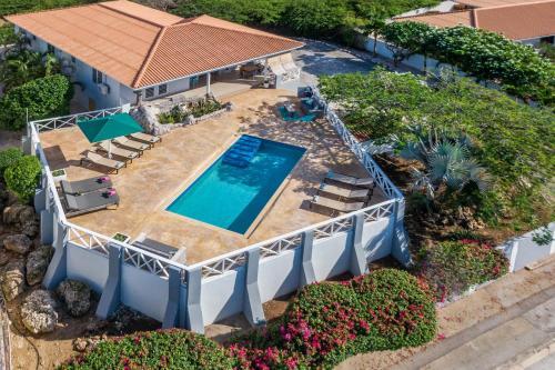 Uma vista aérea de Villa Caiquetio