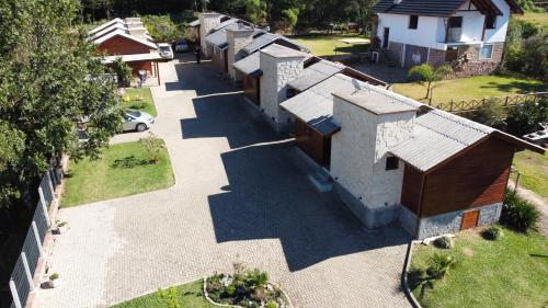 Uma vista aérea de Residencial Dei Fiori