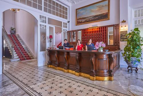 The lobby or reception area at Splendid Palace