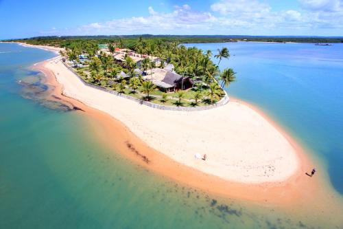 Uma vista aérea de Arraial D'ajuda Eco Resort