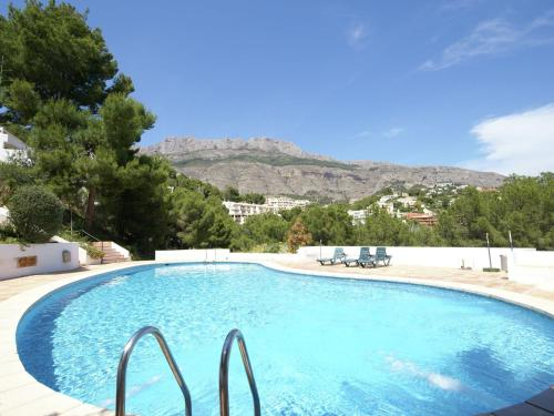 Het zwembad bij of vlak bij Cozy Apartment in Altea with swimming pool