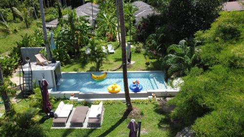 A view of the pool at Asian Secret Resort or nearby