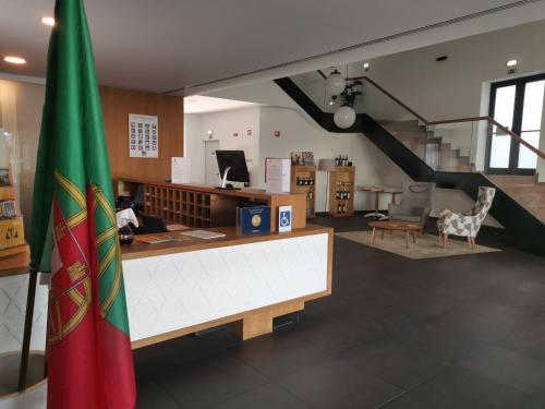 A área de receção ou átrio de Belmonte Sinai Hotel