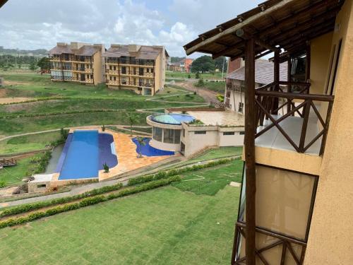 A piscina localizada em Sonhos da Serra bananeiras ou nos arredores