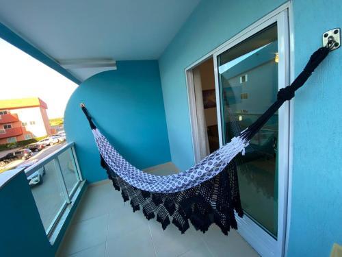 A balcony or terrace at Lindo apto em Arraial do Cabo condomínio Golden Lake