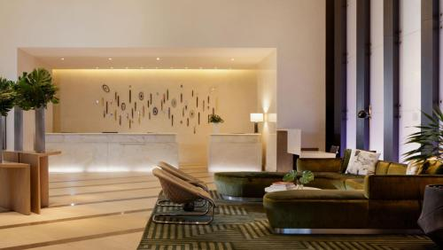 The lobby or reception area at Kimpton EPIC Hotel