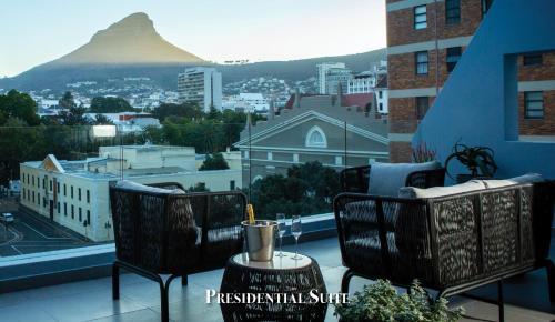 A balcony or terrace at Labotessa Boutique Hotel