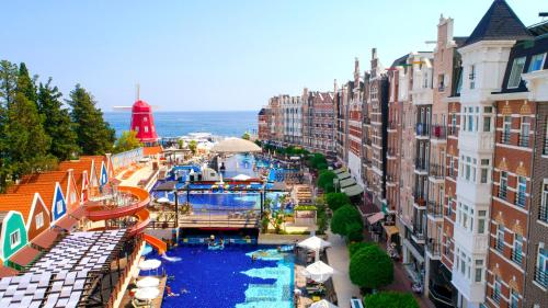 A view of the pool at Orange County Resort Hotel Kemer - Ultra All Inclusive or nearby