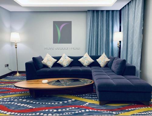 منطقة جلوس في Ruve Jeddah Hotel