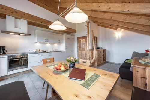 Küche/Küchenzeile in der Unterkunft Platzbon