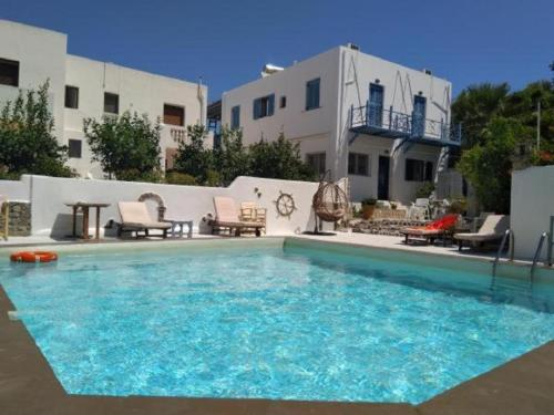 The swimming pool at or near Hotel Meltemi