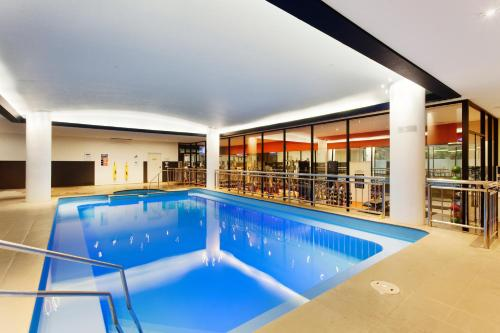 The swimming pool at or near Pullman Melbourne Albert Park