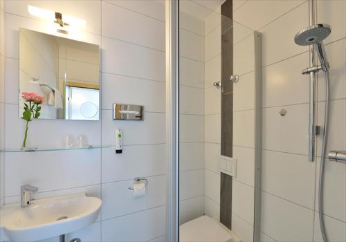 Hotel Sonnenhofにあるバスルーム
