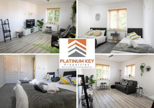 2 Bedroom Apartment at Platinum Key, Milton Keynes- Urban Apartment