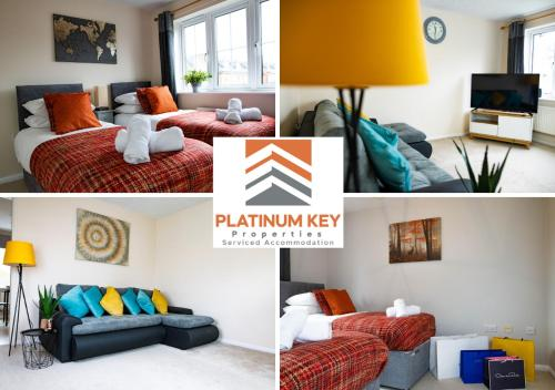 3 Bedroom House at Platinum Key, Bicester, The Spacious House