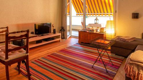 TV/Unterhaltungsangebot in der Unterkunft Appartamento a Locarno
