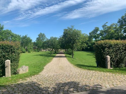 En have udenfor Bremsmaj Farm Holiday