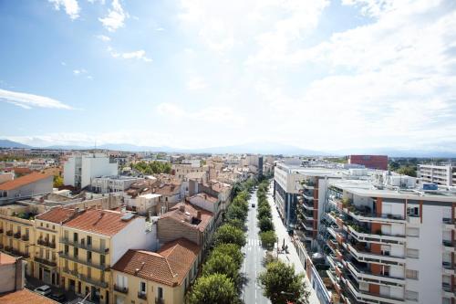 A bird's-eye view of Appart-Hôtel Mer & Golf City Perpignan Centre