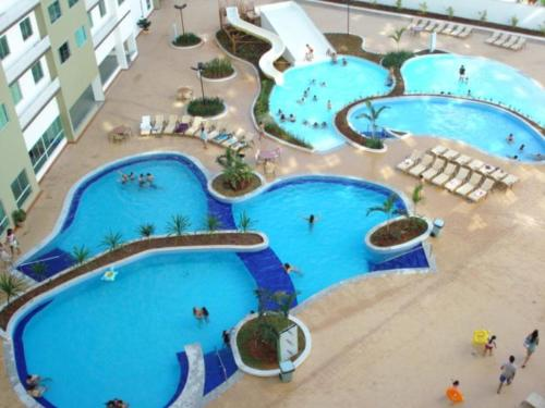 A view of the pool at Apartamento Riviera Park or nearby