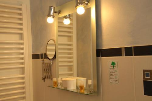 A bathroom at Ferienhof Dittrichs Erben