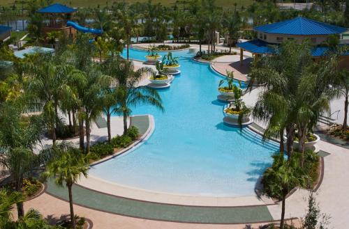 A view of the pool at Hilton Orlando or nearby
