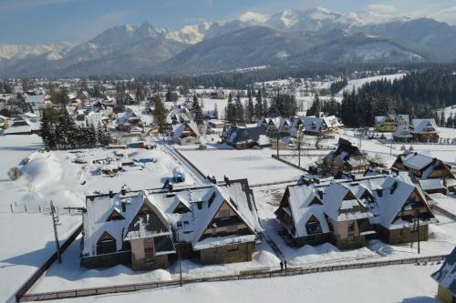 Obiekt Apartamenty Carpe Diem zimą