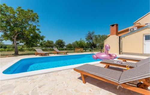 Beautiful home in Polaca with Outdoor swimming pool, WiFi and 4 Bedrooms