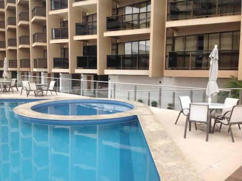 The swimming pool at or close to Suite Superior KP 317 - Setor Hoteleiro Norte